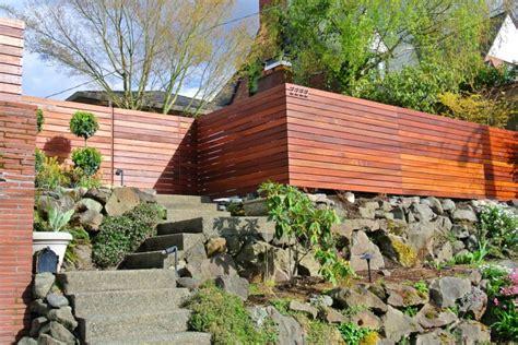 fancy  homes exterior landscape   inspiring home fencing ideas homesfeed