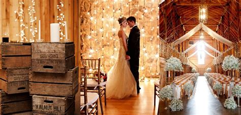 Barn Wedding Decorations : 30 Inspirational Rustic Barn Wedding Ideas