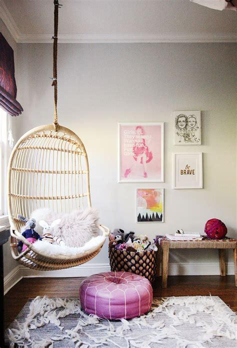 Rafakids  Hanging Chair In Kids Rooms