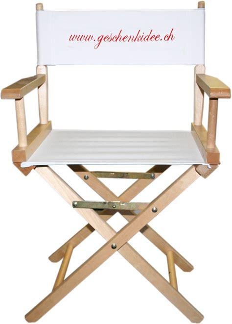 chaise réalisateur chaise realisateur cinéma personnalisable