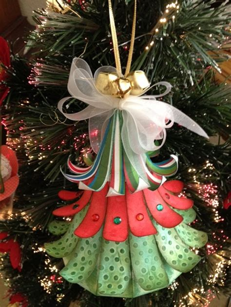 craft creations 3d hanging christmas tree ornament