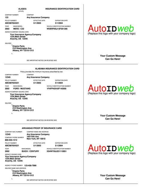 Card is bit of thicker stiff paper or slender pasteboard especially one utilized for composing or printing on. Cap Dat Acord - Fill Online, Printable, Fillable, Blank for Fake Auto Insurance Card Template ...