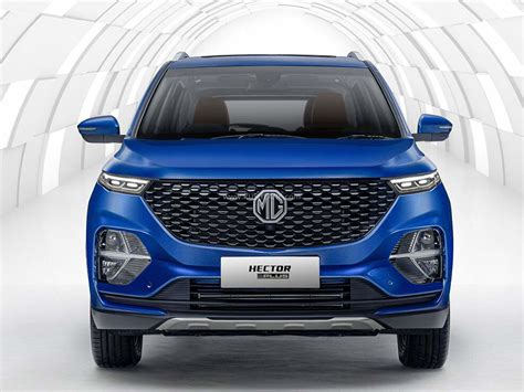 MG Hector Plus added on official website - 3 variants, 3 ...