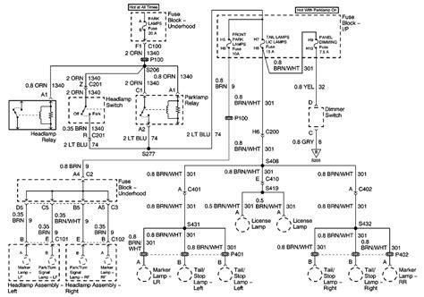 2001 Monte Carlo Radio Wiring Diagram by Repair Guides Power Distribution 2001 Power