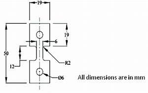 Configuration Of Uniaxial Hot Tensile Test Specimen