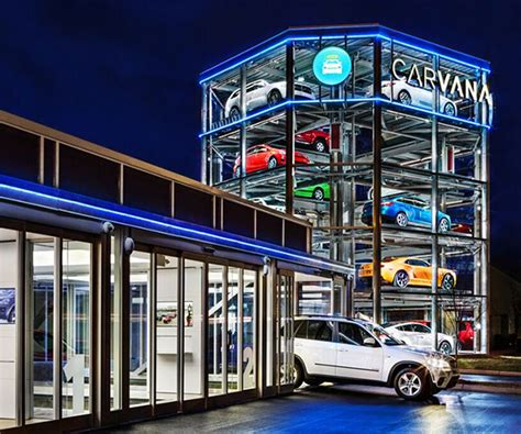 carvana coin operated car vending machine opens  nashville
