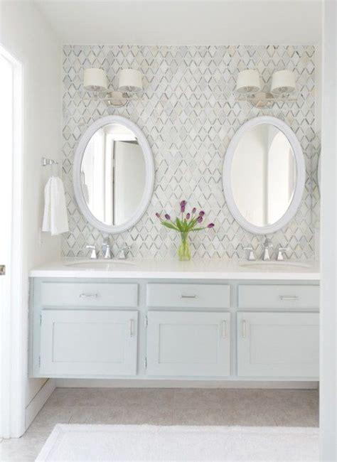ideas  bathrooms  double vanities
