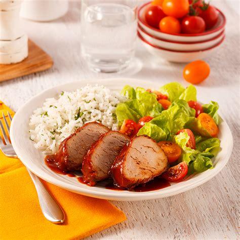 filet de porc sucré à la mijoteuse recettes cuisine et