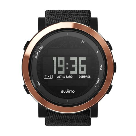 suunto essential ceramic copper black tx watches watches sport watches smart