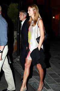 George Clooney and Stacy Keibler Go on a Date - Zimbio