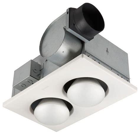 nutone 70 cfm ceiling exhaust fan with 2 250 watt
