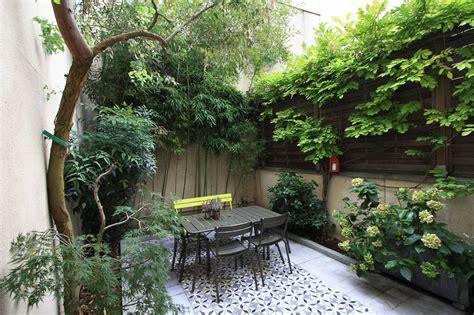 cour de cuisine lille 20e maison de ville avec cour jardin agence ea