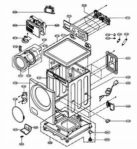 Lg Front Load Washing Machine Parts List