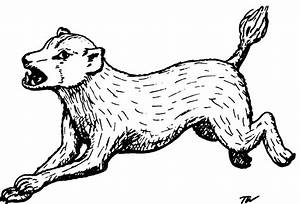 Blink Dog  From The 1st Edition Monster Manual