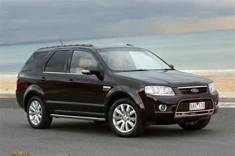 ford falcon territory go four cylinder diesel photos