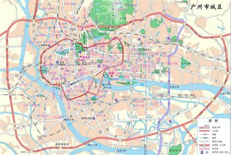 map  guangzhou guangdong china  printable maps