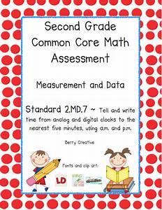 Math Assessment For 2nd Graders - math a teacher out of ...