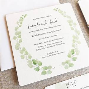 eucalyptus wedding invitation collection by elinor rose With wedding invitations with eucalyptus