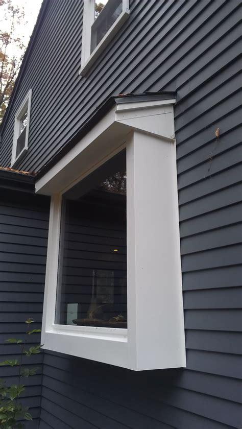 window bump  bay window house paint exterior