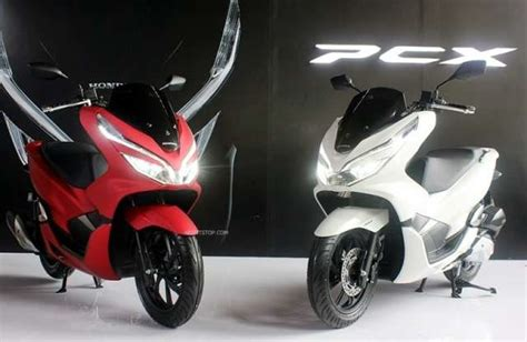 Pcx 2018 White by V Power Motor Honda Pcx 2018 Model
