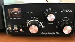 Linear Amplifier Model - La-1000 Amp Supply Co