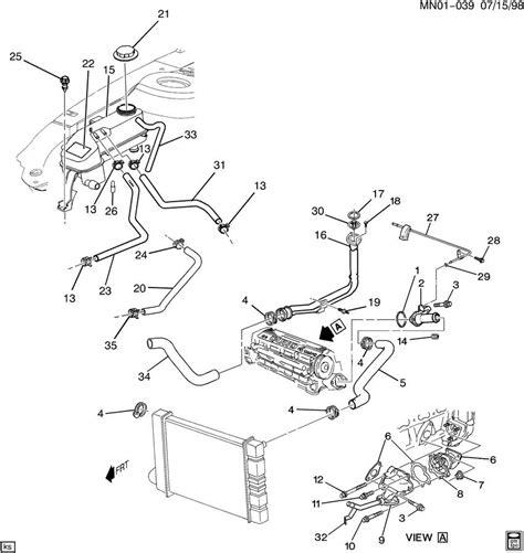 Alero Engine Diagram by 99 Olds Silhouette Engine Diagram Downloaddescargar