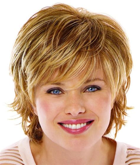short hairstyles  thin hair   face def