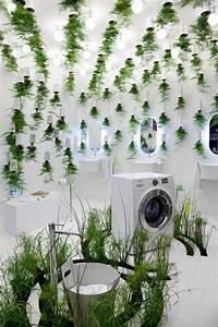 48 idees deco salle de bain avec plantes et fleurs de design With salle de bain design avec décoration florale mariage paris