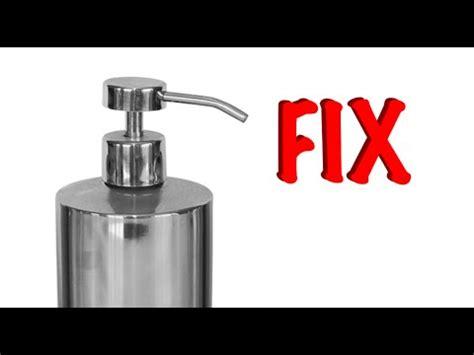 kitchen sink soap dispenser repair fixing a soap dispenser 8540