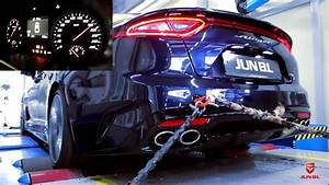 Kia Stinger 2 0t Performance Exhaust Sound  Official  By