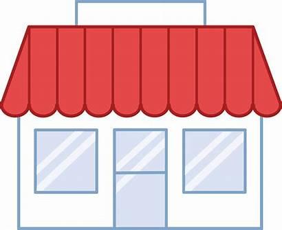 Clipart Clip Building Grocery Buildings Transparent Boutique