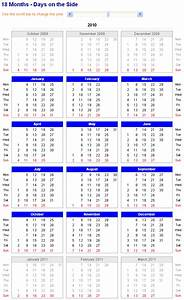 month calendar in excel 2010 quickly insert a monthly or With 18 month calendar template