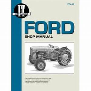 Service Manual Ford Tractor S  Naa  Golden Jubilee