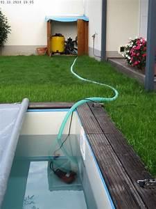 Wasser Für Pool : den pool winterfest machen teil 1 baublog von katja ~ Articles-book.com Haus und Dekorationen