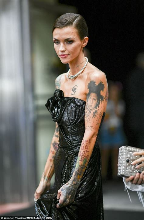ruby rose gallery ruby rose shares makeup free photos of her acne daily