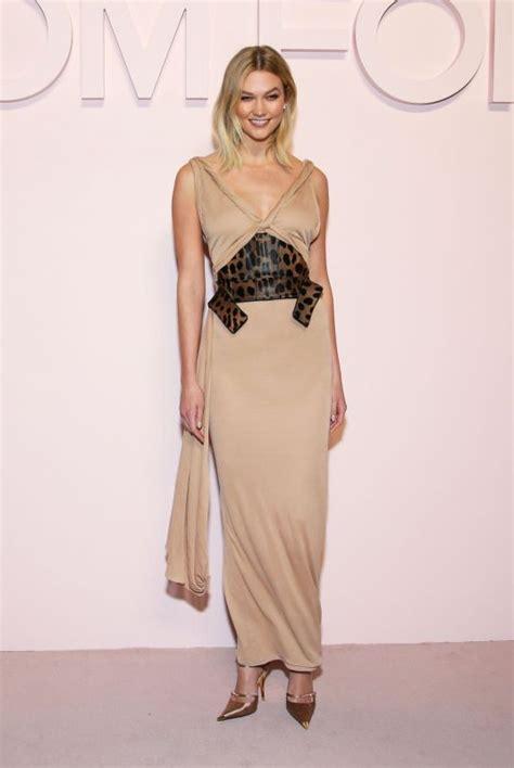 Karlie Kloss Tom Ford Fashion Show Arrivals New York