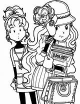 Dork Diaries Pages Coloring Mackenzie Nikki Colouring Maxwell Printable Friends Diares Why Books Feel Break Spring Bad Hat Mackenzies Say sketch template