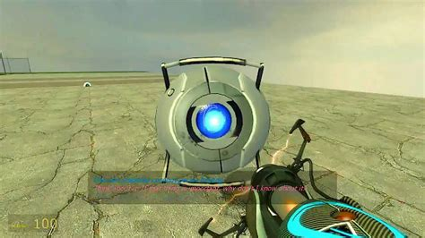 Portal Wheatley Crazy Personality Core Total Mod