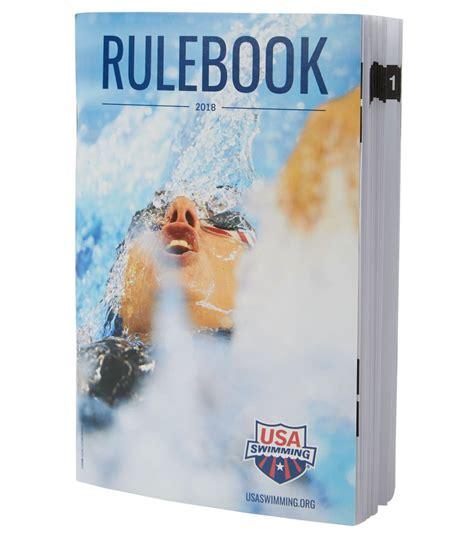 usa swimming  mini rulebook  swimoutletcom