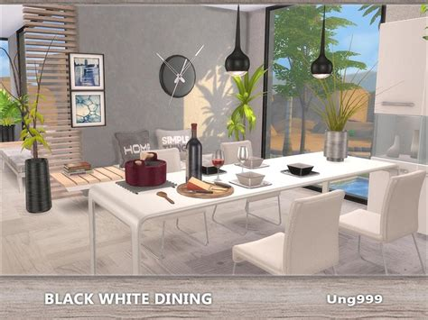 Ung999's Black White Dining