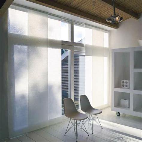 Vorhänge Für Grosse Fensterfront by Sonnenschutz Sichtschutz Flaechenvorhang Wieroszewsky