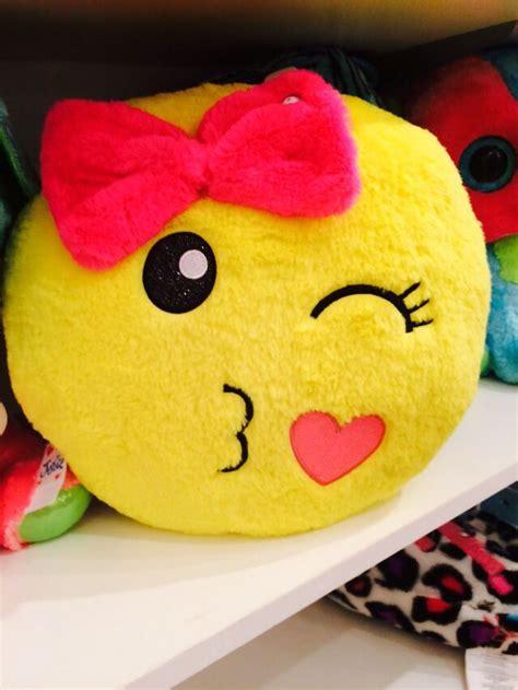 Cute Emoji Pillow  Justice  Pinterest  So Cute, I Love