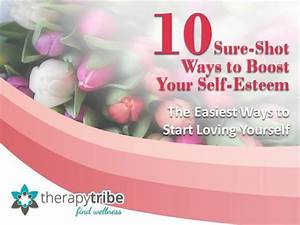 10 sure shot ways to boost your self esteem authorstream With self esteem powerpoint templates