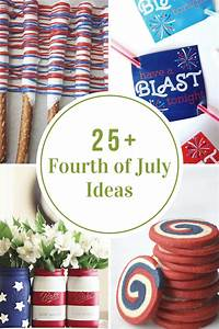 Fourth of July Treats, Printables and Decor - The Idea Room