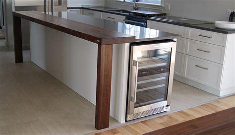 type de comptoir de cuisine comptoir cuisine bois cuisine moderne plan travail bois