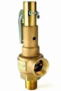 Steam Boiler Safety Pressure Relief Valve 1 1  4 U0026quot  Asme