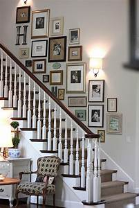 Gallery, Wall, Ideas, For, The, Stairs