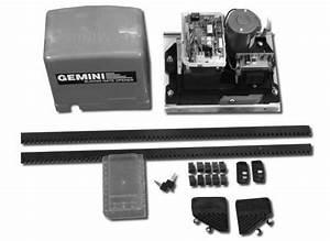 Gemini Gate Motor User Manual