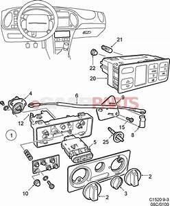 4612792  Saab Control Panel