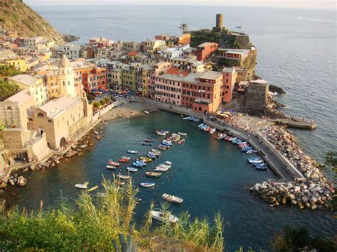 Vernazza Cinque Terre Italy Jigsaw Puzzle In Puzzle Of